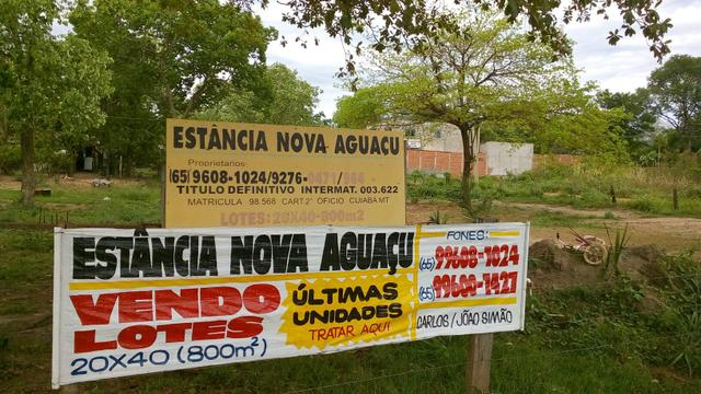 Vendo Lotes Rural 20x40 (800 mtrs2)