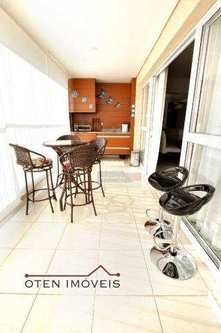 Apartamento com 4 dormitórios à venda, 156 m² por r$ 750.000 - jardim das indústrias - são - Foto 4