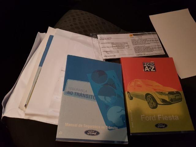 Ford Fiesta flex 1.0 SE completo, 13/14 repasse R$19.900 - Foto 10
