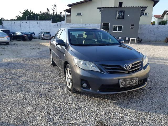 Toyota Corolla XEI 2.0 flex, automático, completo, couro