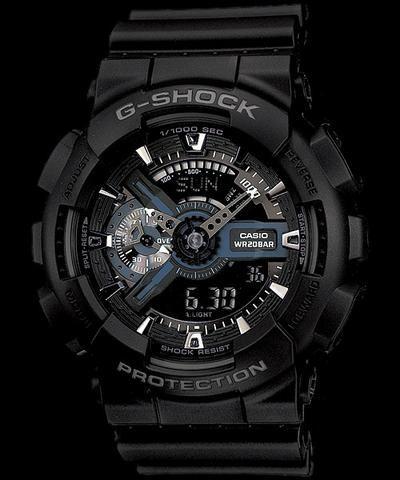 b28238c9226 Relógio Casio G-Shock GA-110-1B - Comprado nos Estados Unidos - 100%  Original