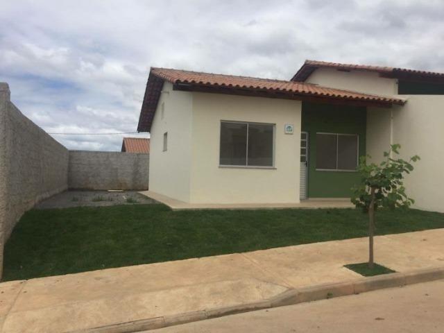 Lindas casas 02 qts quintal garagem ótima localização transporte na porta financiadas - Foto 20