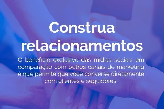 Gerenciamento de Mídias Sociais e Criação de Sites - Foto 2