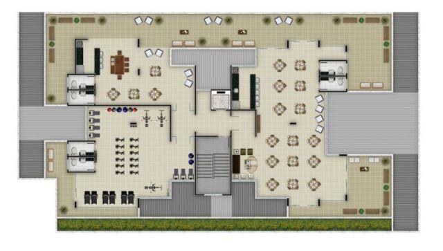Apartamento à venda com 2 dormitórios em Santa mônica, Belo horizonte cod:48911 - Foto 4
