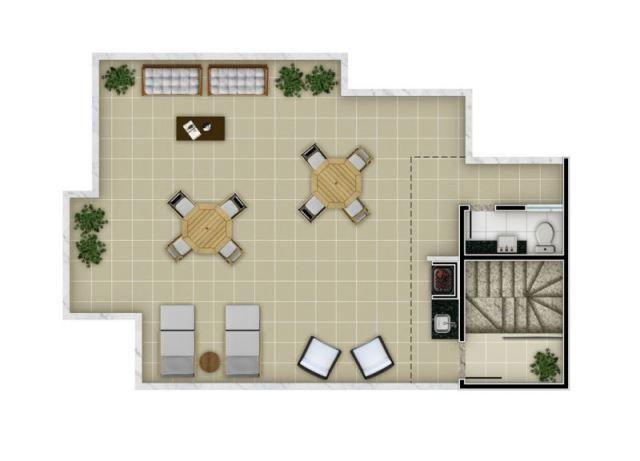 Apartamento à venda com 2 dormitórios em Santa mônica, Belo horizonte cod:48911 - Foto 3
