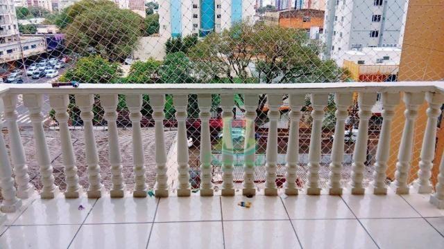 Apartamento com 2 dormitórios para alugar, 96 m² por R$ 1.500/mês no Centro em Foz do Igua - Foto 6