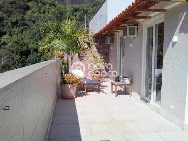 Apartamento à venda com 3 dormitórios em Cosme velho, Rio de janeiro cod:LB3CB26548 - Foto 2