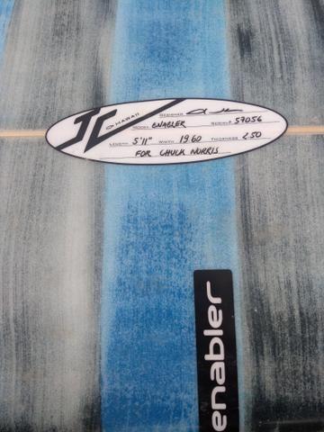 Prancha de surf John Carper 5.11 - Foto 4