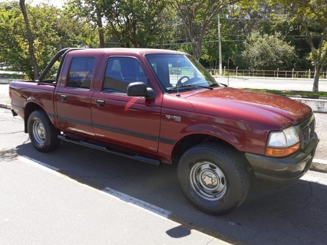 Ranger XL Cab. Dupla 2.5 Gasolina Ano 2001 Completa !! - Foto 3