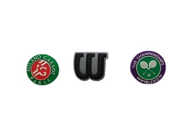 Antivibradores Wilson - Wimbledom - Roland Garros - 3Un