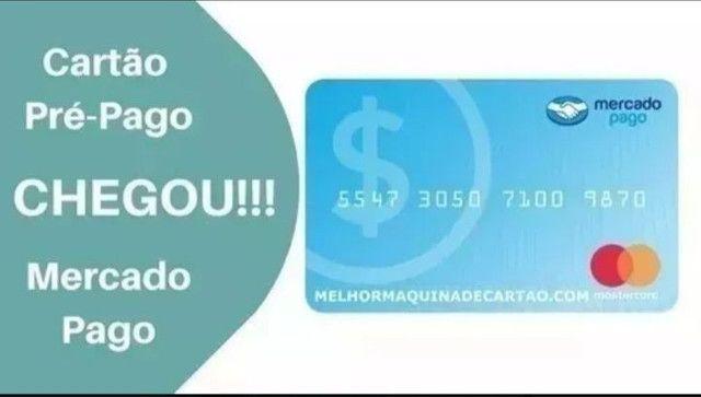 Maquininha de cartão débito e crédito mercado pago - Foto 6