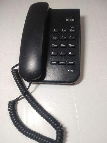 Telefone Intelbrás Com Fio Keo K103 - Foto 3