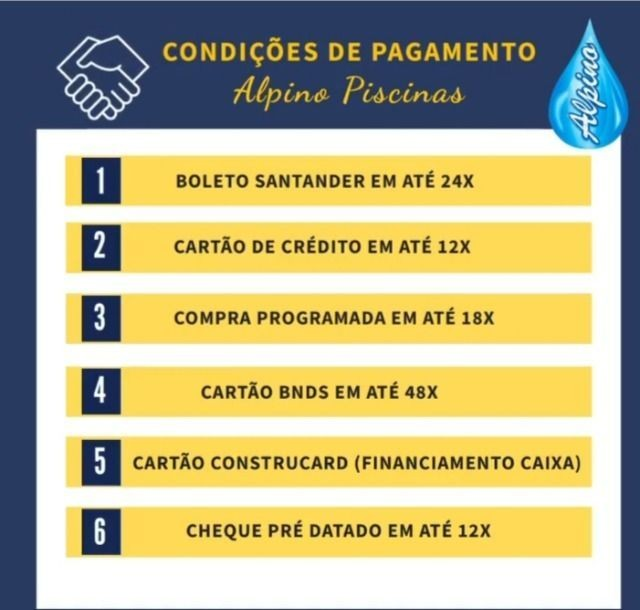 CI - Queimão de estoque - Piscina Fibra Alpino - 29 anos no mercado - Foto 6