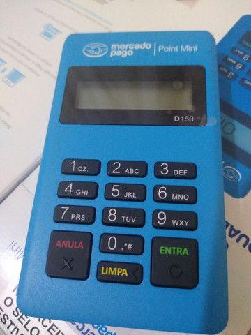 Maquininha de cartão débito e crédito mercado pago - Foto 5