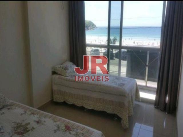 Apartamento 03 quartos, vista privilegiada, frente Praia do Forte. Cabo Frio-RJ - Foto 3