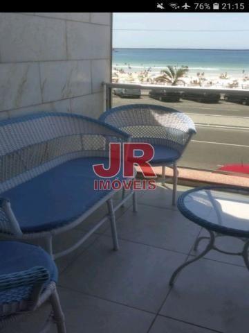 Apartamento 03 quartos, vista privilegiada, frente Praia do Forte. Cabo Frio-RJ - Foto 4