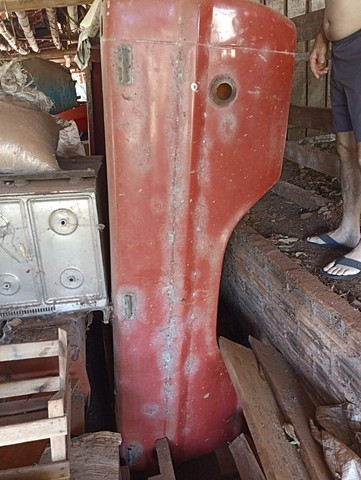 Carroçeria caçamba F1000 lata usada - Foto 8