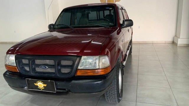 Raridade! Ranger Xl 2.5 4x4 Diesel C.Dupla