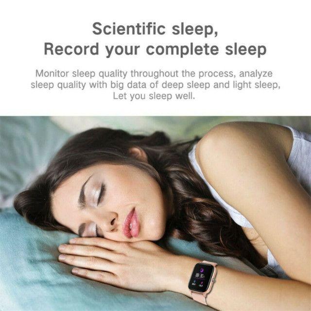 Fagger- * - - * -P8 Sports Smart Watch Fitness Heart Rate Smart Bracelet Touch-Screen IPX7 - Foto 4