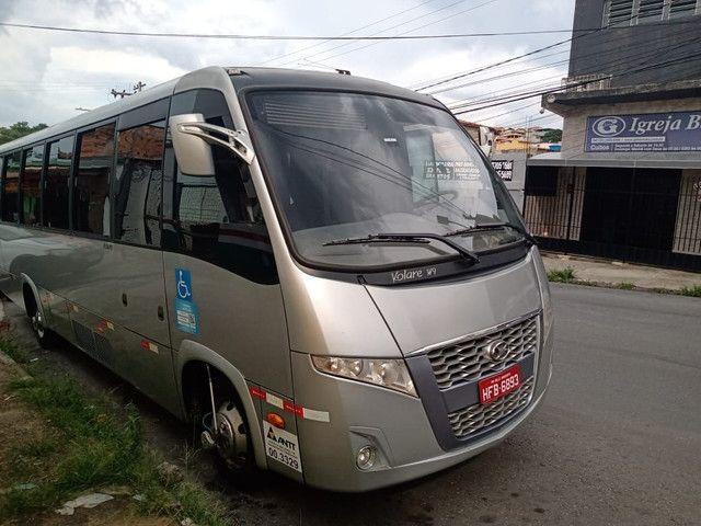 Micro-ônibus W9 Marcopolo/Volare Executivo 32 Lugares - Foto 6