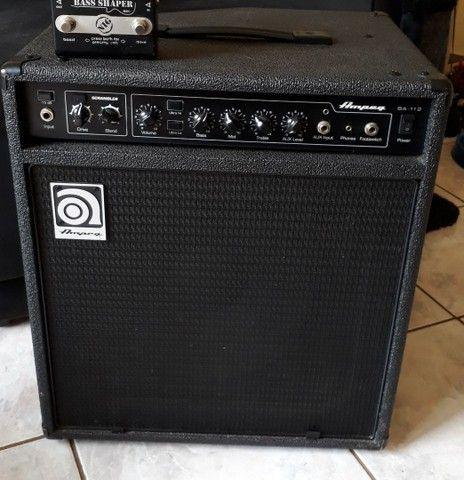 Amplificador de baixo AMPEG BA 112 V2 cubo. Combo.