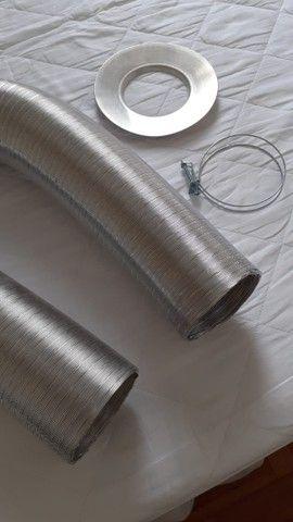 Duto para aquecedor a gás com presilha - Foto 6