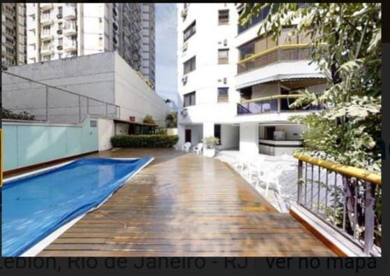 Leblon Apartamento 2 Quartos 1Suite  Vaga de Garagem Infra Estrutura - Foto 16