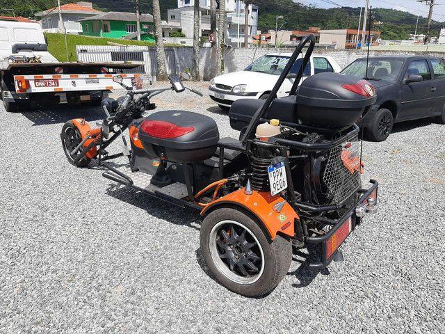 Triciclo 1600cc 2018 diferenciado exclusivo abaixo da tabela fipe 42 por 34.900 - Foto 7
