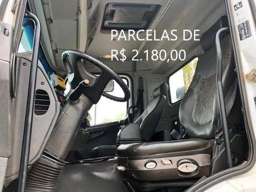 """Mercedes-Bens Axor 3344 2018 Munck Hyva Elevação 35 """"T"""" Entrada mais Parcelas com Serviço. - Foto 4"""