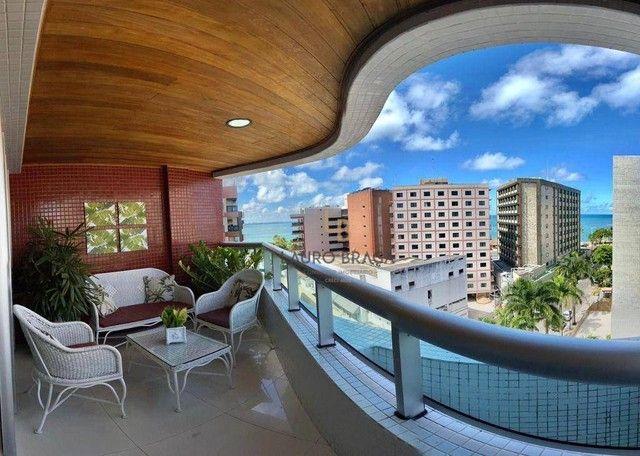 Apartamento com 3 dormitórios à venda, 164 m² por R$ 1.365.000,00 - Ponta Verde - Maceió/A - Foto 3
