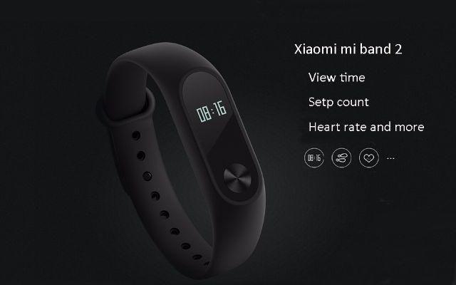Mi Band 2 (Pulseira Inteligente) Monitor Cardíaco, Frequencímetro, Relógio, Smartwatch