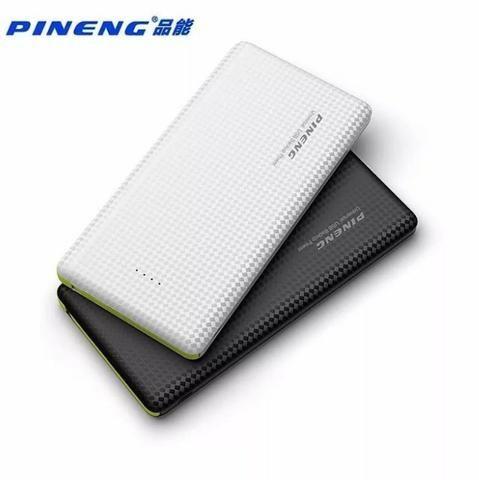 Pineng Original Carregador Portátil Power Bank Slim 10000 Com Selo - Mega Infotech - Foto 5