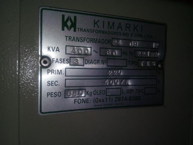 Transformador 400kva Kimark