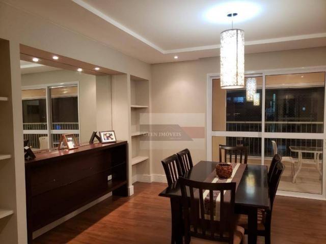 Apartamento com 3 dormitórios à venda, 156 m² por r$ 700.000 - jardim das indústrias - são - Foto 3