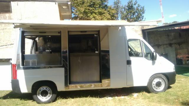 Food truck ducato 2.8 jtd diesel ano 2008 91mil km pronta para trabalhar $ 79,900