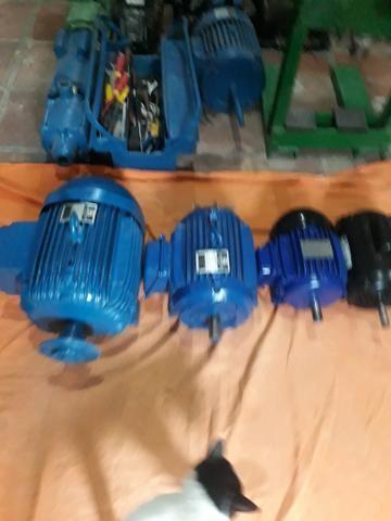 Motores Trifásico de 7,5CV 2 Alta e Baixa e 3CV de Alta - Foto 4