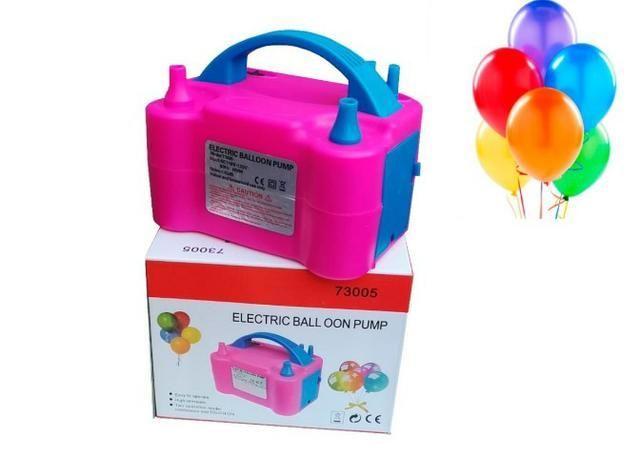 Inflador Elétrico Balões Bexigas Compressor Balão Automático 600W * Preço Imbativel R$129