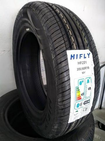 Pneu Novo 205/60 R16 Marca Hifly ( Linha Fiat Adventure, Ecosport, Aircross, Fluence., )