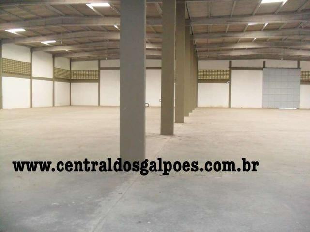 Galpão há 5 km do Porto de aratu