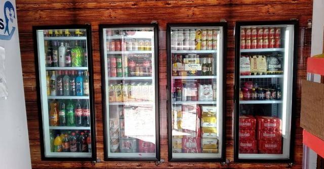 Expositor com portas de vidros.walk in box walk in cooler .camara fria com portas de vidro - Foto 3