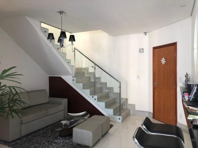 Cobertura à venda, 3 quartos, 3 vagas, buritis - belo horizonte/mg - Foto 3