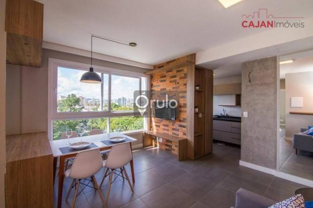 Apartamento com 2 dormitórios à venda, 61 m² por R$ 445.900,00 - São Sebastião - Porto Ale - Foto 3