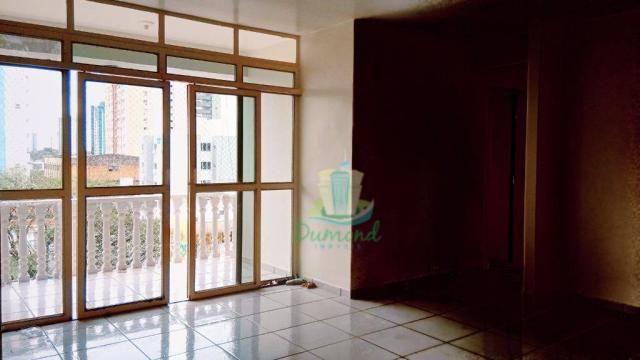 Apartamento com 2 dormitórios para alugar, 96 m² por R$ 1.500/mês no Centro em Foz do Igua - Foto 5