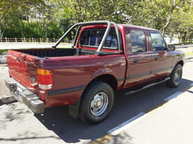 Ranger XL Cab. Dupla 2.5 Gasolina Ano 2001 Completa !! - Foto 6