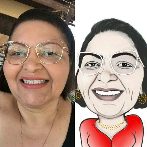 Caricaturas grátis pro seu evento E colorida para arte - Foto 3
