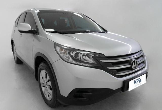 Honda CRV 2.0 LX Prata Automático Completo CR-V