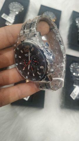 Relógio Megir Masculino Original - Foto 4