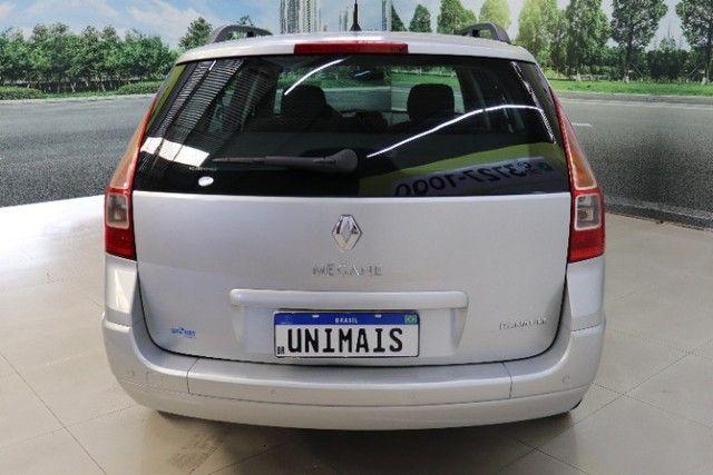 Renault megane Grand Tour Dynamique 1.6 16 v  prata 2012 - Foto 16