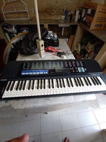 Teclado Casio ToneBank CT-670 perfeito  - Foto 4