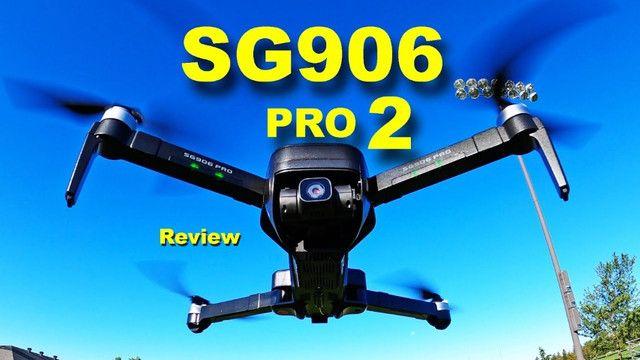 Drone Sg906 Pro 2 Camera 4k Gimbal 3 Eixos Lançamento 100% original - Foto 4